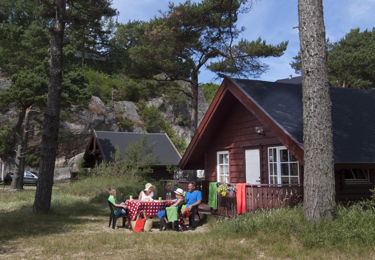 Åros Camping Hytter