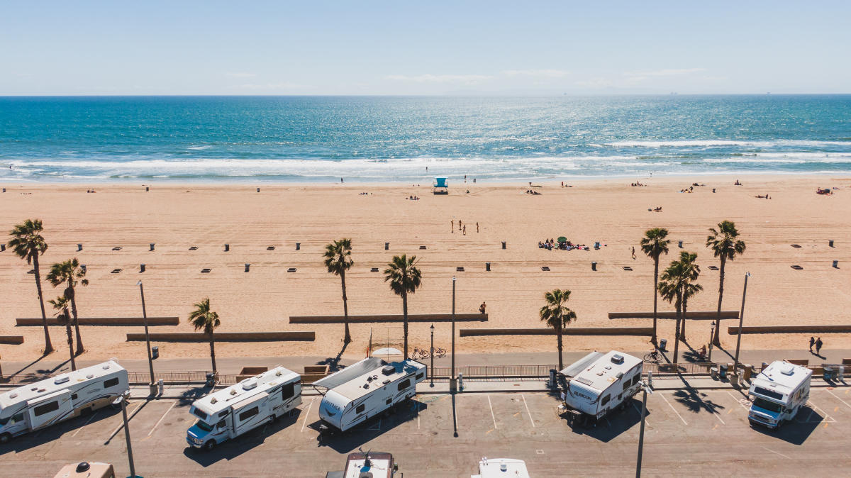 Rv Camping In Huntington Beach Places To Stay