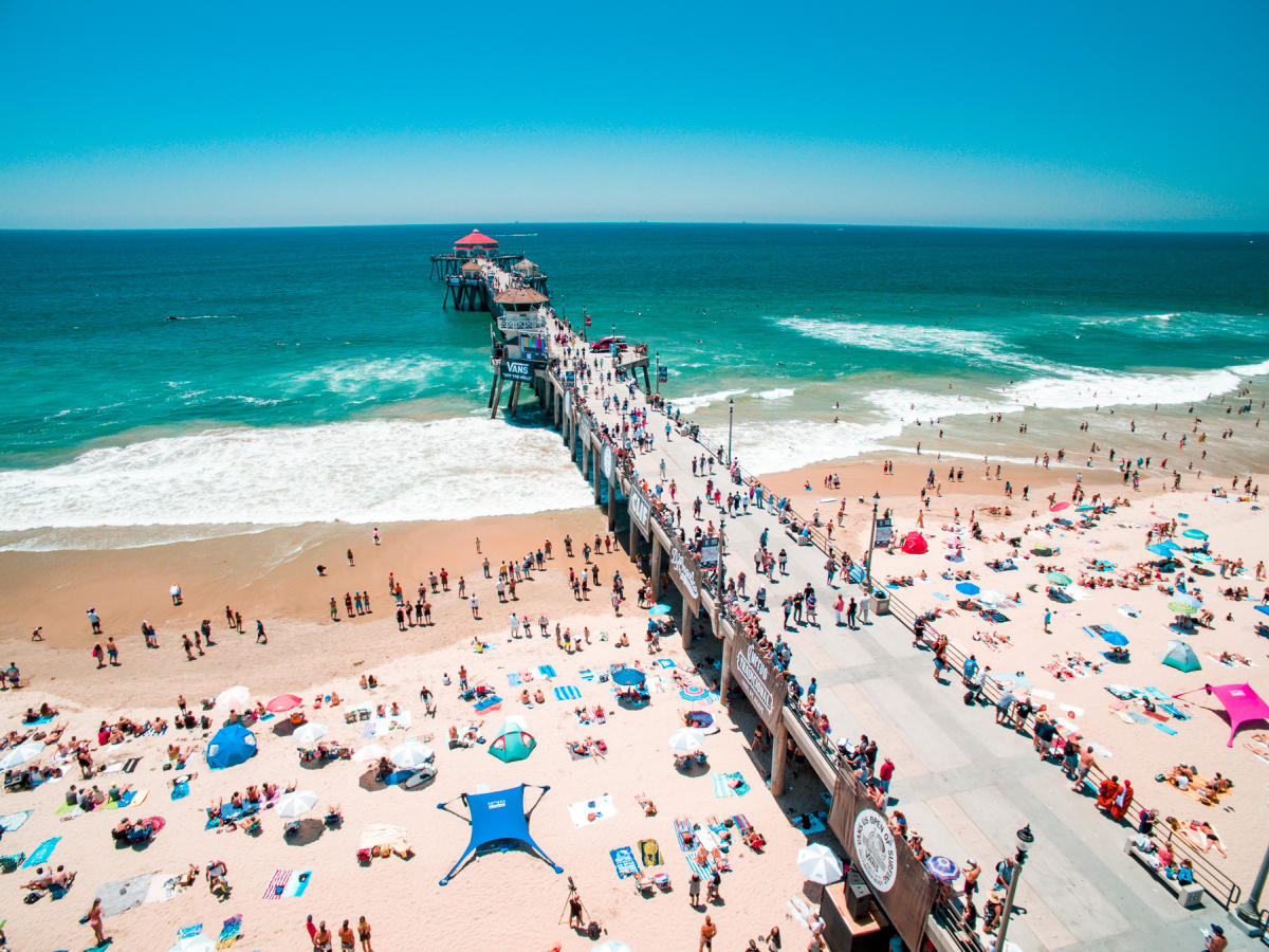 US Open of Surfing in Huntington Beach | August 1, 2020