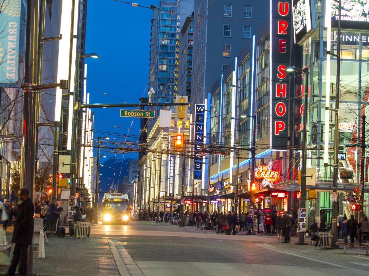 Vancouver's Nightlife Neighbourhoods | Gastown, Kitsilano