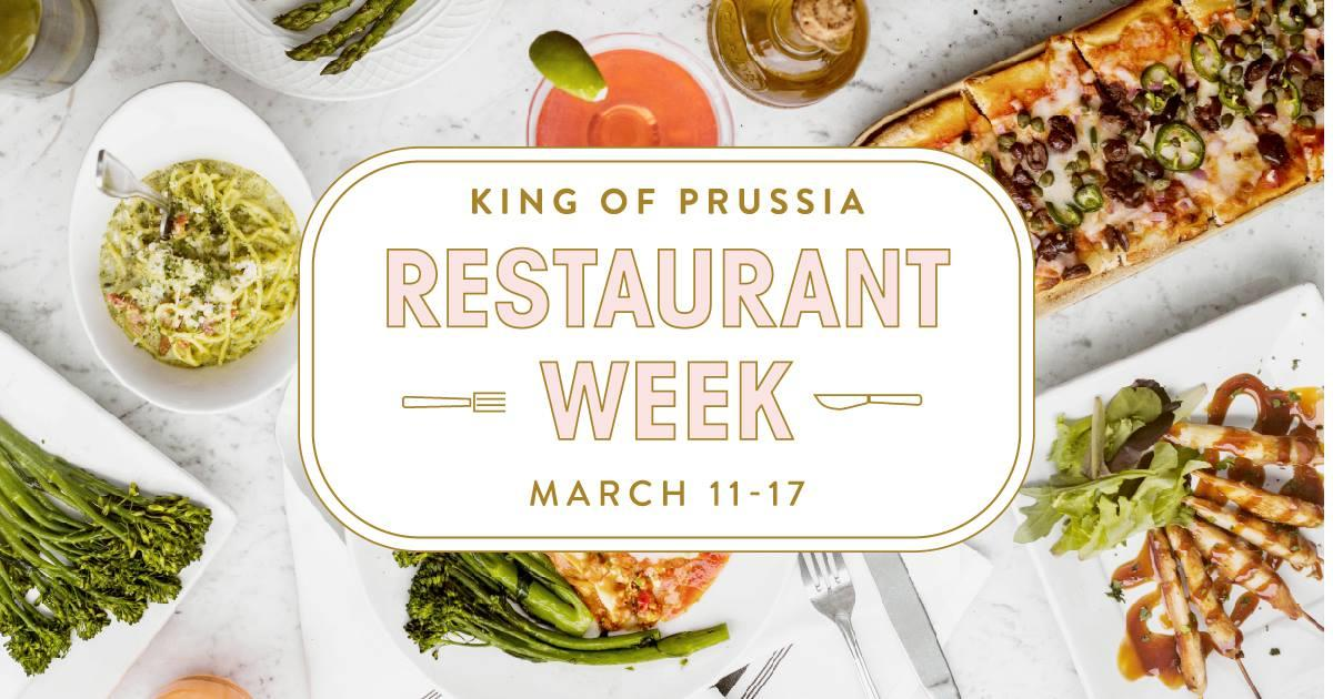 King of Prussia Restaurant Week 2019