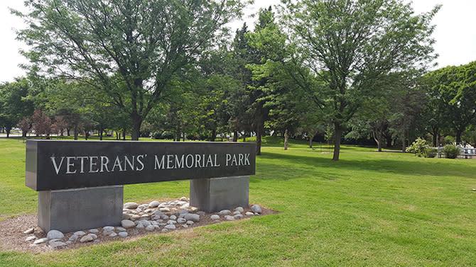 Veterans Memorial Park In Wichita Ks Midwest War Memorials