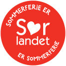 Sommerferie er Sørlandet logo