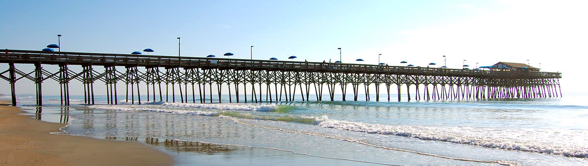 Pier At Garden City Things To Do Where To Fish In Myrtle Beach