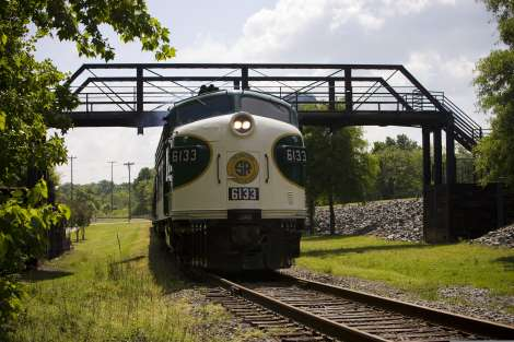 Train at NC Transportation Museum