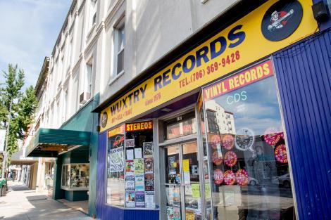 Wuxtry Records Athens GA