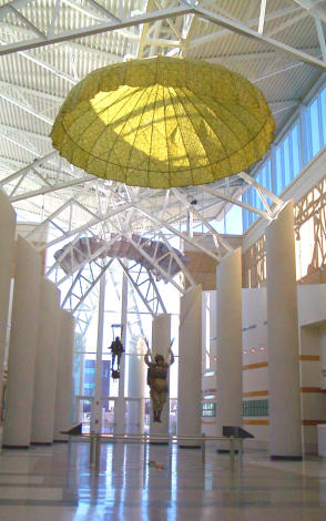 Airborne  Special Operations Museum lobby