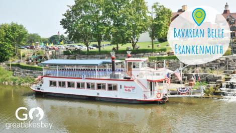 Bavarian Belle Riverboat Frankenmuth - Zoom