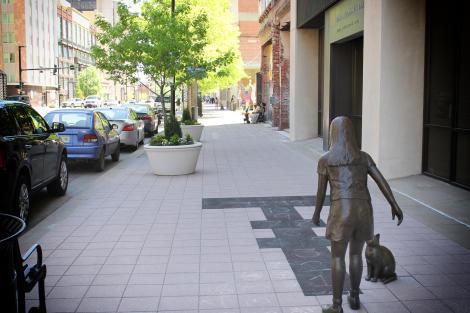 Bronze Sculptures in Downtown Wichita