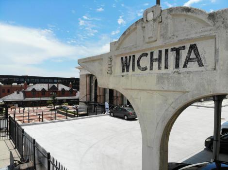 Wichita Union Station Train Platform