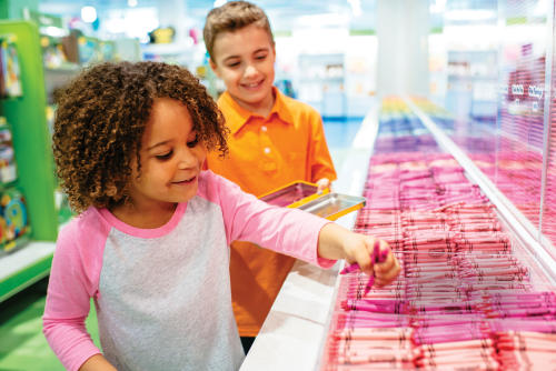 Pick Your Pack at Crayola Experience