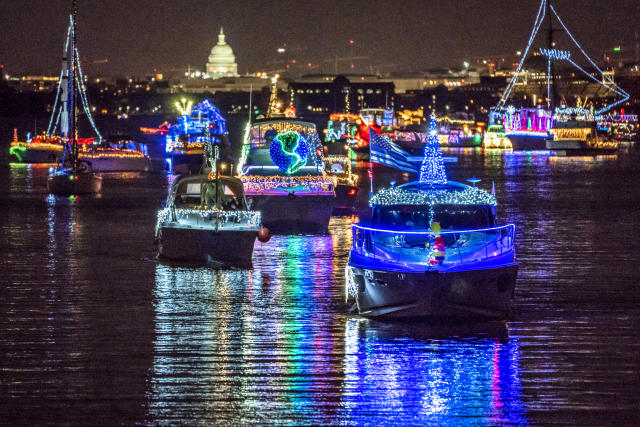 Christmas Events In Old Town Alexandria Va 2020 Holiday Boat Parade of Lights in Alexandria VA