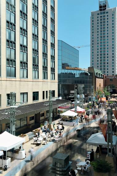 Thursdays On First and Third Summer Festival on Peace Plaza