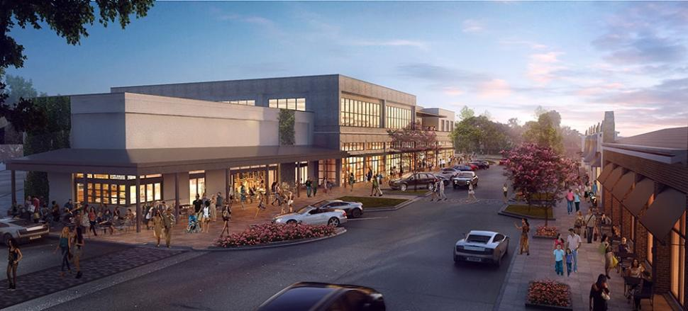 Hyde Park Village Rendering