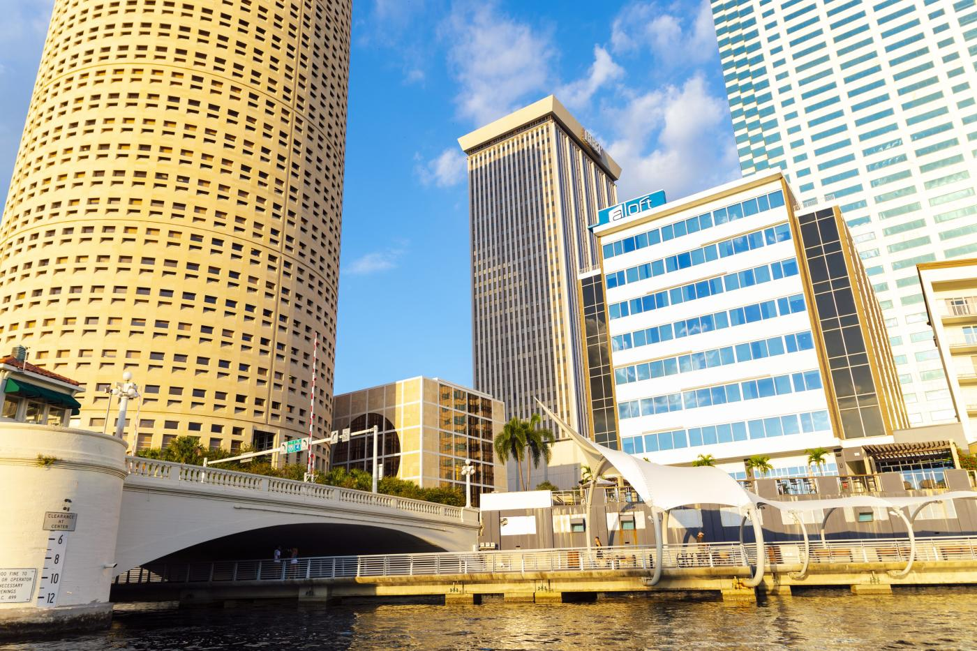 Downtown Tampa Riverwalk