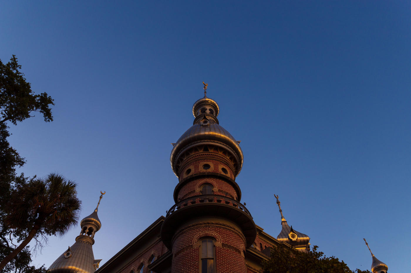 Pictured Above: Minarets on top of the Henry B. Plant Museum