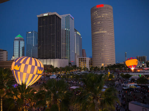 Tampa, a city transformed and shining