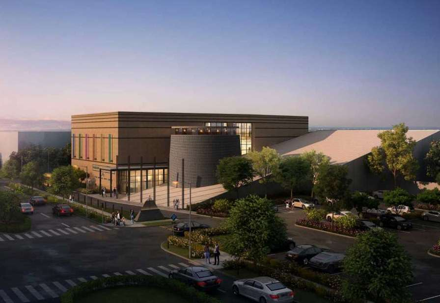 Holocaust Museum Expansion Rendering