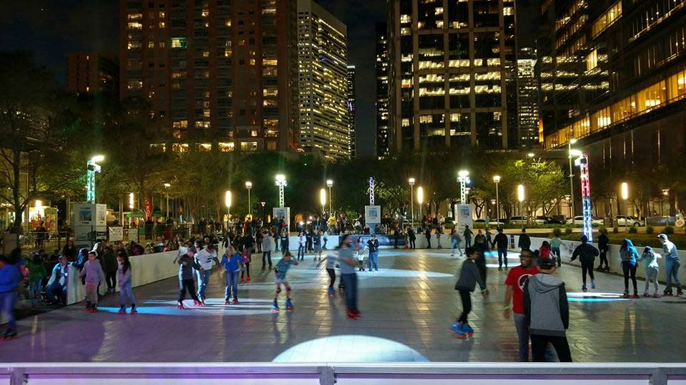 the rink
