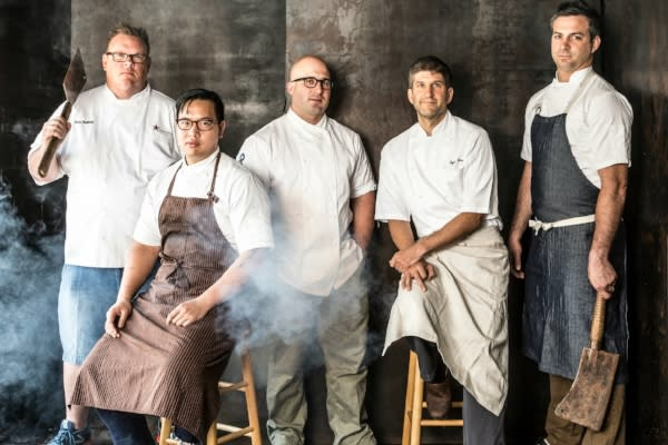 HOU BBQ Collective chef line up photo