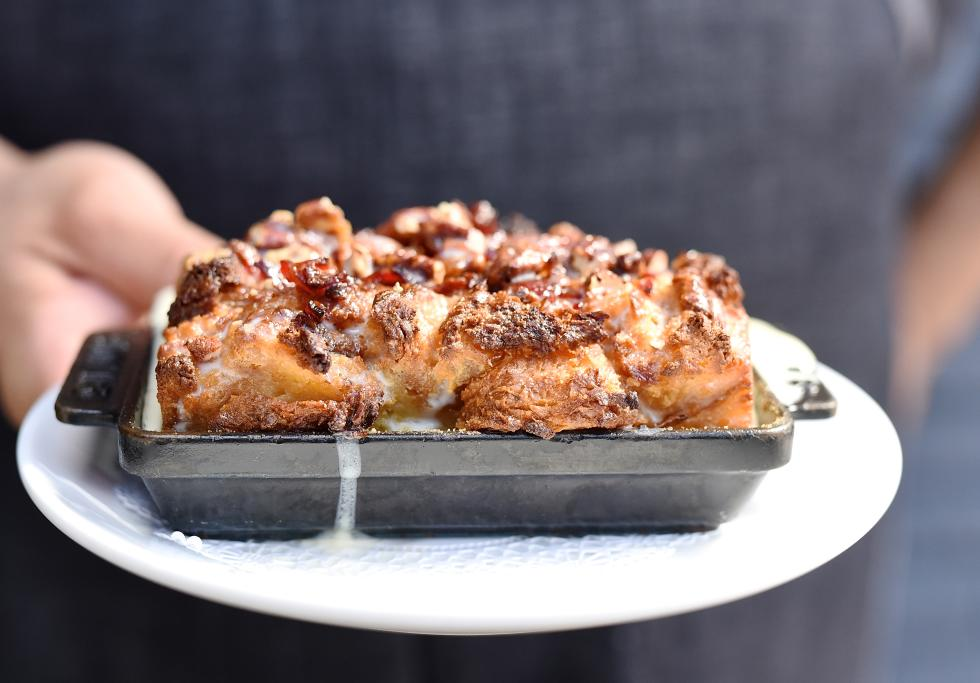 Bacon Tres Leches Bread Pudding - Killen's