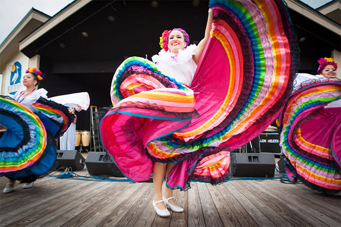 Dancing Women at Grito Fest