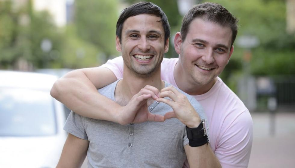 Gay Couple in Houston
