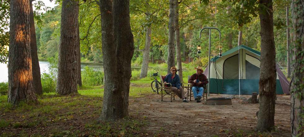 Camping Around Houston