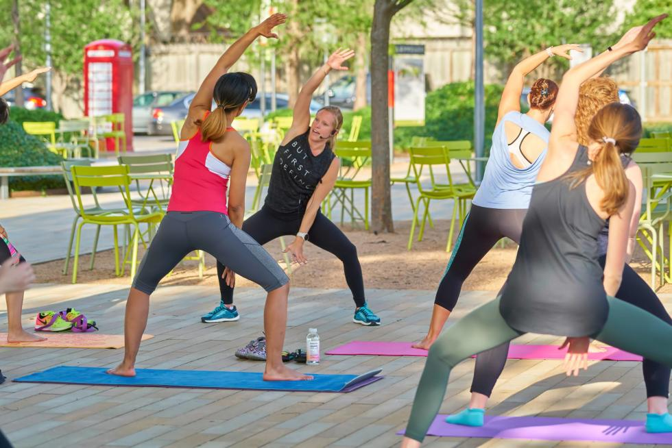 Levy Park Fitness Classes