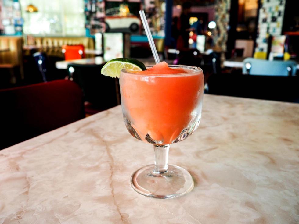 Chuy's Strawberry Margarita