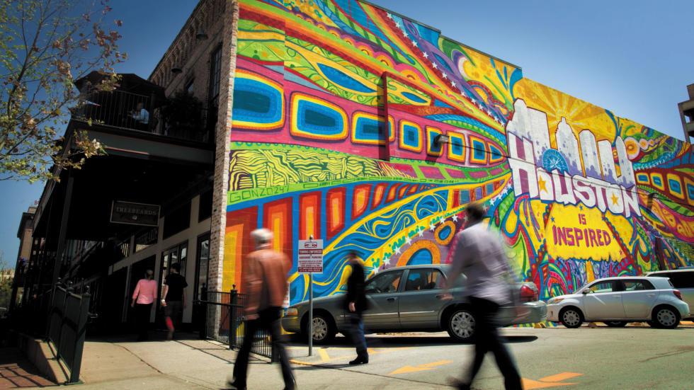 Houston Mural Market Square
