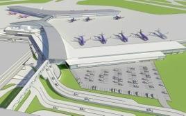 Hobby Airport Rendering