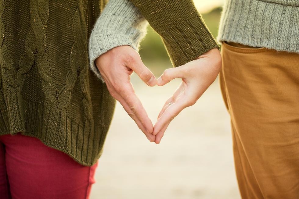 Couple Hand Heart