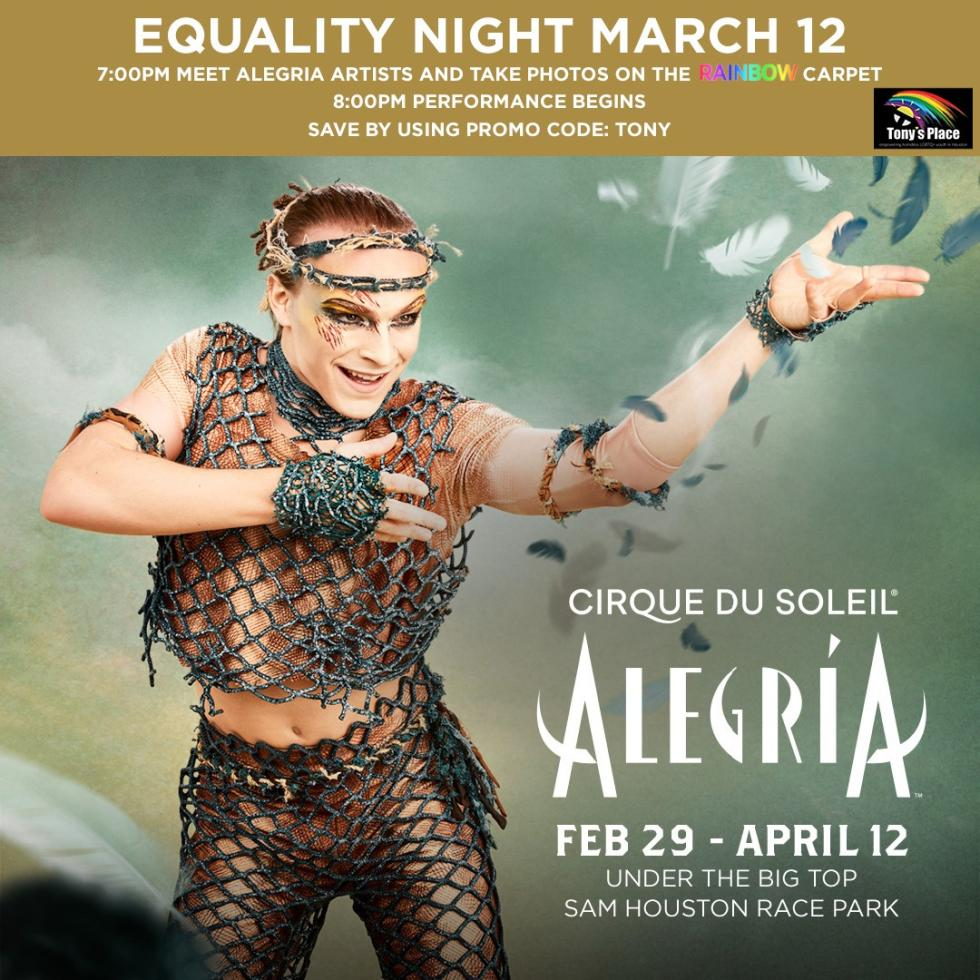 Cirque du Soleil Equality Night