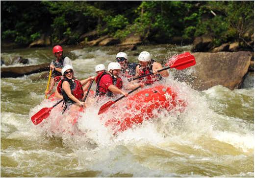 Planning A Whitewater Rafting Trip Around Chattanooga
