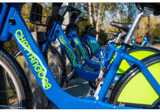 Chattanooga's Bike Share