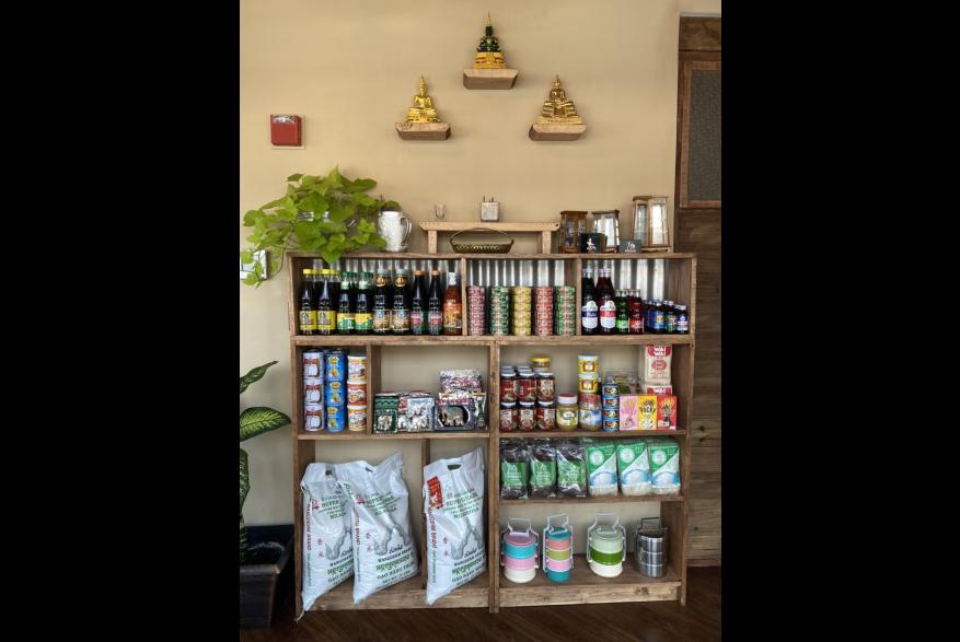 Mali Thai Restaurant interior