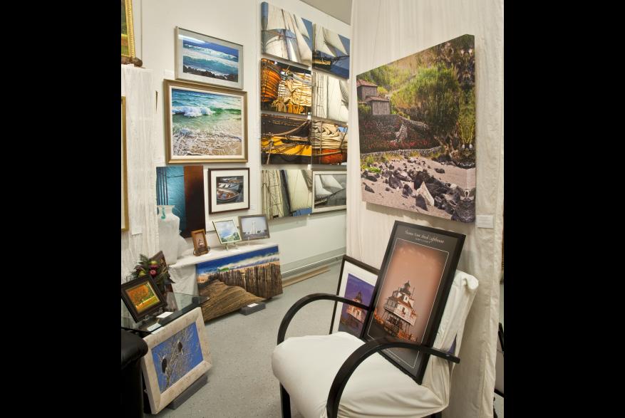 Lisa Masson studio interior
