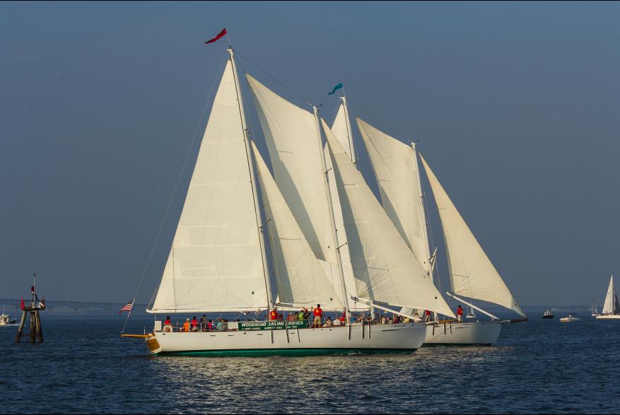 Schooner Woodwind: Annapolis Sailing Cruises