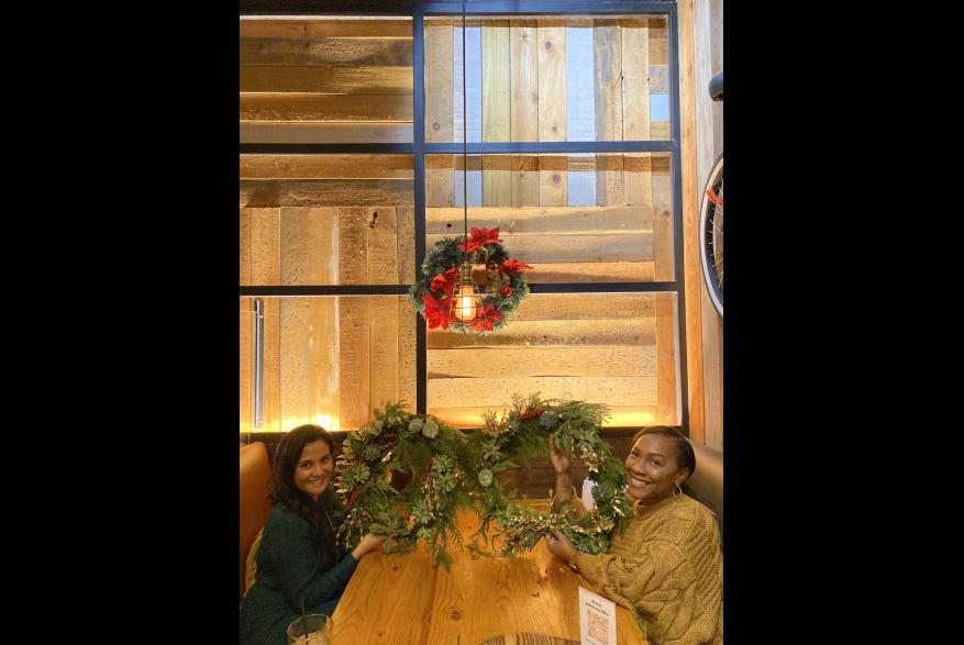 Wreath Making 1