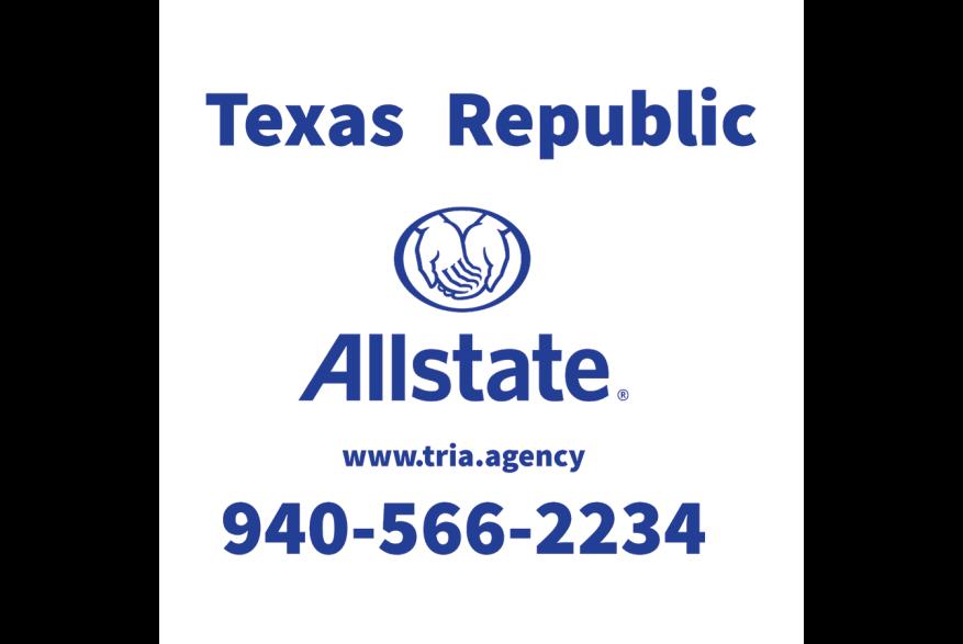 Texas Republic Allstate Logo