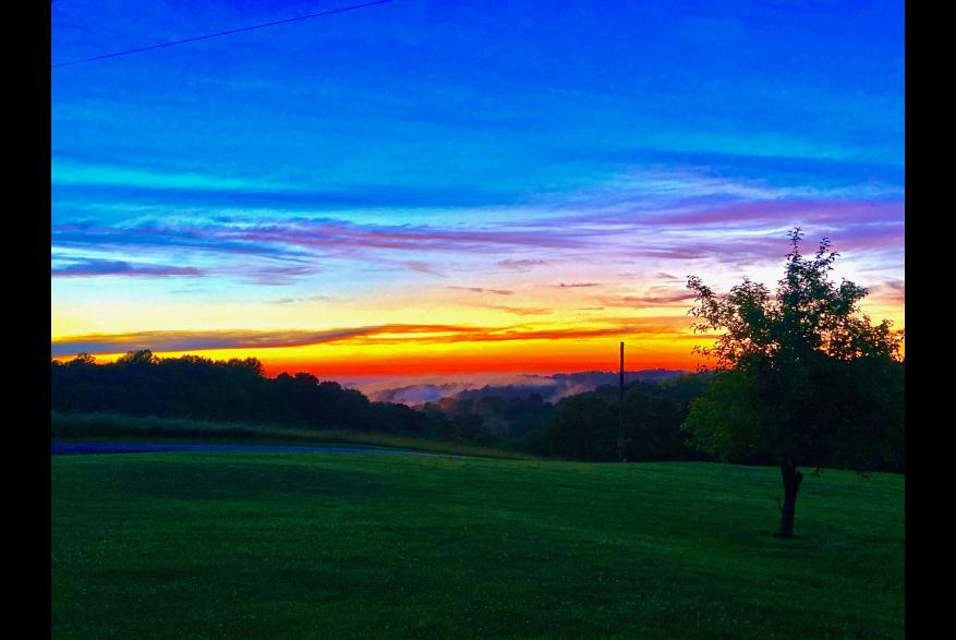 #CaptureTheKentuckyWildlands Photo Contest May/June 2021 - Natural World Category - Amazing Sunset Photo by Amy Price