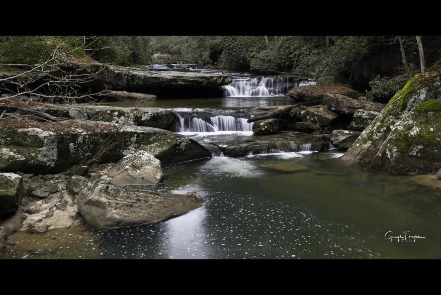 #CaptureTheKentuckyWildlands Photo Contest May/June 2021 - Natural World Category - Bark Camp Creek Photo by Greg Davis