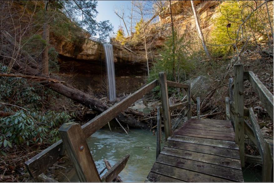 #CaptureTheKentuckyWildlands Photo Contest May/June 2021 - Natural World - Broke Leg Falls Photo by Brandon Middleton