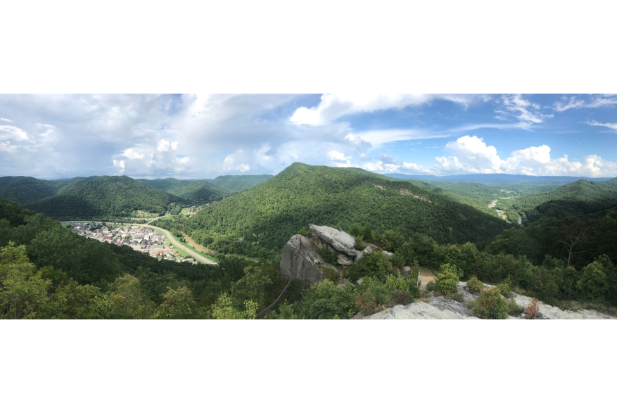 #CaptureTheKentuckyWildlands Photo Contest May/June 2021 - Travel - Wide Shot of Chained Rock Photo by Ricky Bowling