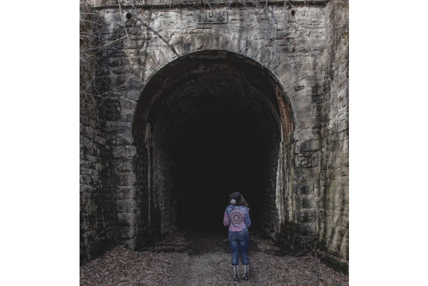 #CaptureTheKentuckyWildlands Photo Contest May/June 2021 - Travel - Abandoned Trail Tunnel in Kentucky Photo by Lisa M