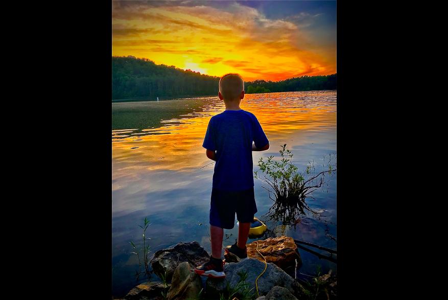 #CaptureTheKentuckyWildlands Photo Contest May/June 2021 - People - 3 Little Boy Fishing Photo by James Maynard