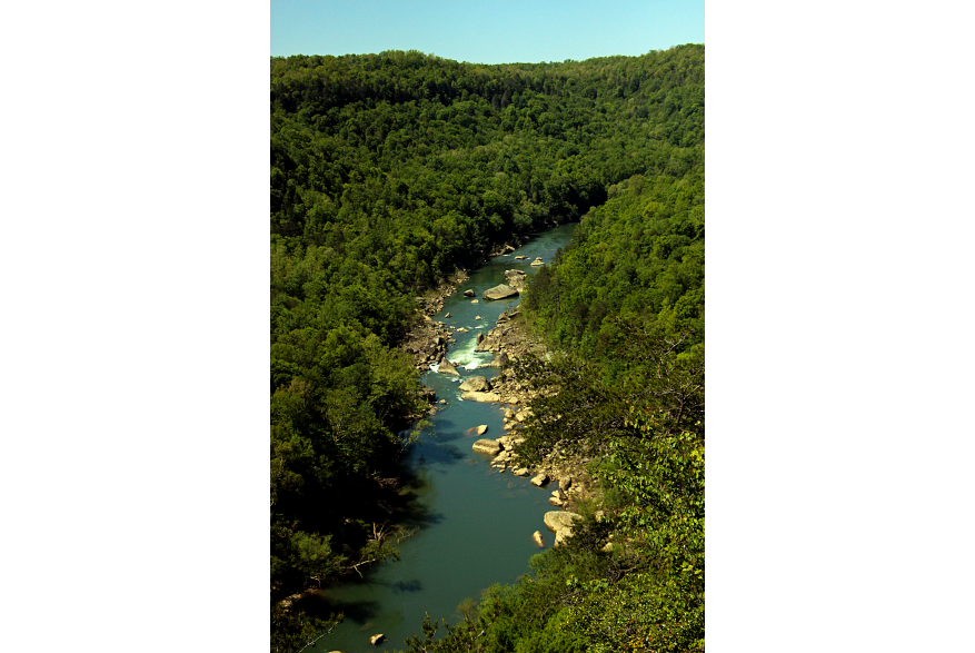 #CaptureTheKentuckyWildlands Photo Contest May/June 2021 - The Kentucky Experience - Overlook at Big South Fork in McCreary County Photo by Peggy Yaeger