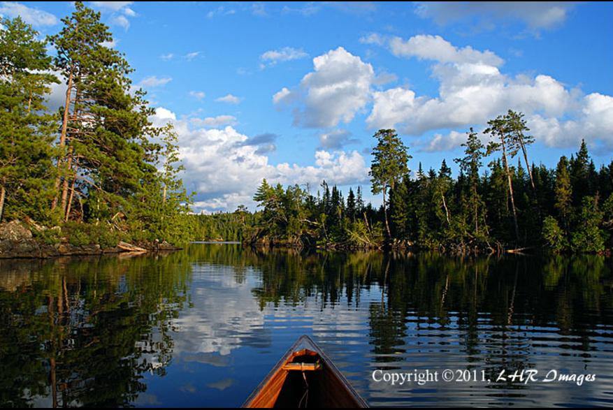 Canoe in daylight