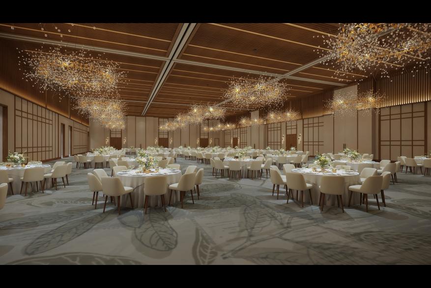 Rendering of Jr Ballroom in Omni PGA Frisco Resort